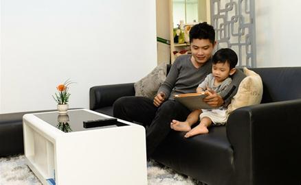 Căn hộ mới mua của nhạc sĩ Nguyễn Văn Chung