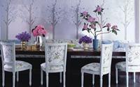 Khéo trang trí nhà bằng giấy dán tường họa tiết hoa anh đào