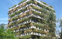 Chung cư 10 tầng bao phủ bởi 380 chậu trúc