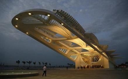 """""""Bảo tàng của tương lai"""" với kiến trúc ấn tượng"""