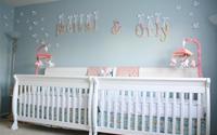Đẹp mê ly những căn phòng ngủ cho trẻ sinh đôi