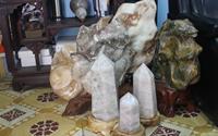 Những lưu ý khi dùng đá phong thủy trang trí phòng khách