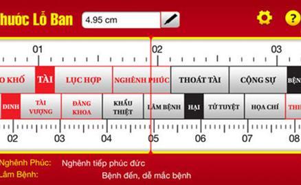 Góc phong thủy: Phương pháp sử dụng chính xác thước Lỗ Ban