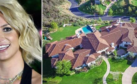 Bên trong biệt thự 9 triệu USD của Britney Spears