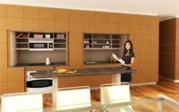 3 mẫu tủ bếp đa năng tiết kiệm diện tích khiến các bà nội trợ mê từ cái nhìn đầu tiên