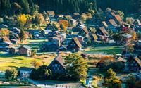 Ngôi làng đẹp như cổ tích ở Nhật Bản