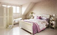 Những phòng ngủ dành riêng cho tín đồ của sắc hoa Lavender khiến ai cũng mê mẩn