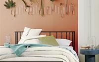Ngọt ngào như những căn phòng ngủ sơn màu hồng đào