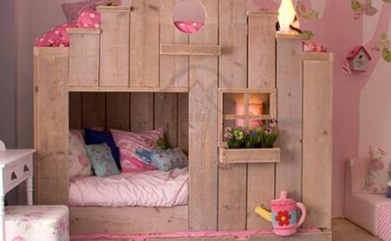 Thiết kế giường ngủ sinh động cho trẻ nhỏ