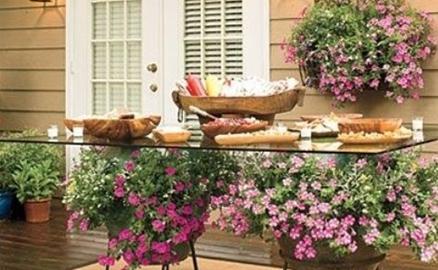 Làm đẹp khoảng sân trước nhà chuẩn bị đón mùa hè