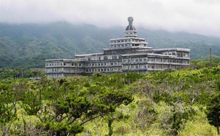 Vẻ hoang tàn của khách sạn lớn nhất Nhật Bản một thời