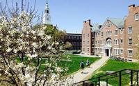 Khuôn viên đẹp như tranh của đại học ít sinh viên nhất Ivy League