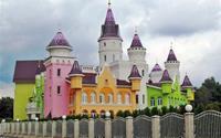 Trường mẫu giáo giống lâu đài cổ tích ở Nga