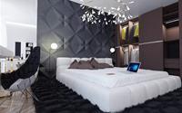 Ngắm những phòng ngủ màu xám nhưng không hề u ám và nhàm chán