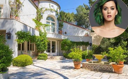 Bên trong biệt thự gần 10 triệu USD của Katy Perry