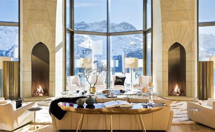 Bên trong ngôi nhà dát vàng đắt nhất Thụy Sĩ
