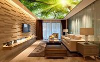 Đẹp kinh ngạc với trần nhà 3D