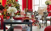 Những kiểu trang trí phòng khách đậm chất Giáng sinh nhìn đã thấy an lành