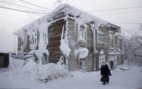 Ngôi làng lạnh nhất thế giới với bốn bề tuyết trắng bao phủ