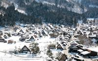Hình ảnh tuyệt đẹp về làng cổ Shirakawago trong mùa đông