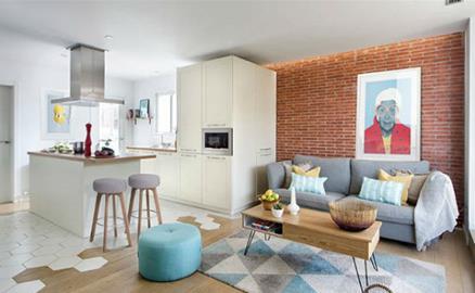 Thiết kế căn hộ phong cách Scandinavian đẹp đến từng centimet
