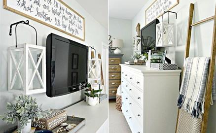 10 kiểu trang trí tivi để phòng khách đẹp hơn