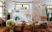 Mỗi khi hè sang là nhà nhà lại muốn có một căn phòng khách như thế này