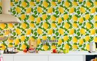 Nhà bếp chẳng bao giờ đơn điệu, nhàm chán với loạt mẫu giấy dán tường tuyệt đẹp