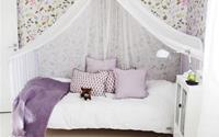 Thiết kế phòng ngủ cho bé gái dễ thương như trong cổ tích làm các bậc phụ huynh phải học tập tức thì