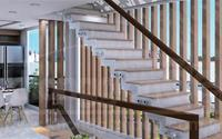 Cầu thang trong phong thủy nhà ở