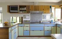 Mỗi căn một kiểu nhưng sau cải tạo, 2 phòng bếp này đều đẹp và tiện dụng đến bất ngờ