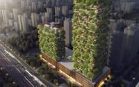 Tòa nhà đầu tiên ở thành phố châu Á trở thành 'rừng thẳng đứng'