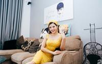 Căn hộ đẹp tinh tế từng góc nhỏ ở Hà Nội tự tay Hoa hậu Phan Hoàng Thu lên ý tưởng thiết kế