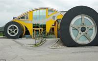 Những ngôi nhà có thiết kế quái dị nhất thế giới