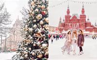 Vòng quanh thế giới ngắm mùa đông phủ trắng băng tuyết