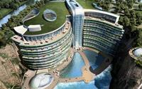 Khách sạn 5 sao dưới lòng đất độc đáo ở Trung Quốc