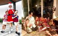 """""""Đột nhập"""" những tổ ấm ngập tràn không khí Giáng sinh của Sao Việt"""
