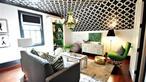 Những cách trang trí nhà bằng giấy dán tường cực sáng tạo