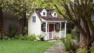 Thư giãn tuyệt đối với 13 ngôi nhà nhỏ yên bình trong vườn