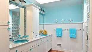 Thiết kế phòng tắm lấy cảm hứng từ biển