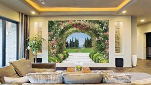 10 bức tranh mang thiên nhiên vào phòng khách