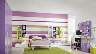 Thiết kế sinh động cho phòng ngủ của trẻ em