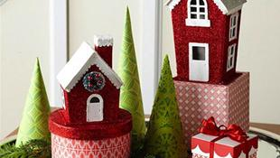 Trang trí phòng bé đón Giáng sinh an lành