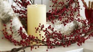 Mang không khí Giáng sinh vào phòng tắm nhà bạn