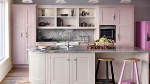 Ngắm những nhà bếp màu hồng đẹp hớp hồn chị em nội trợ