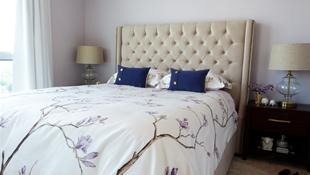 Những phòng ngủ dành riêng cho tín đồ của sắc hoa Lavender