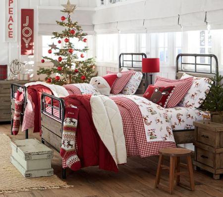 Giáng sinh ngự ở trên... giường