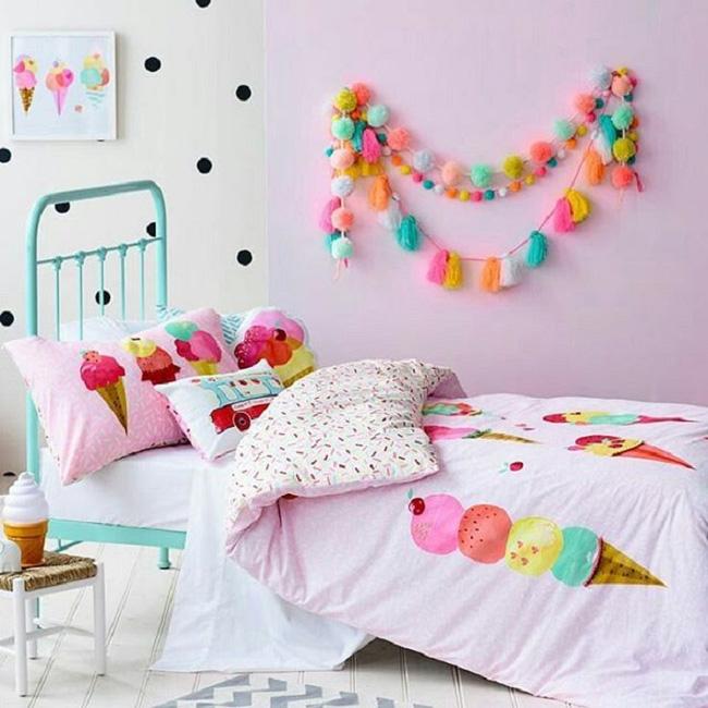 Những mẫu thiết kế giường ngủ đặc sắc các gia đình có con gái không thể bỏ qua