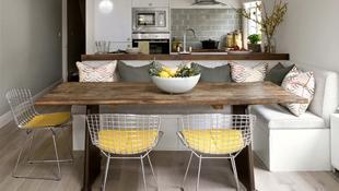 Những mẫu bàn ghế ăn khiến phòng ăn nhà bạn từ nhỏ hóa rộng thênh thang