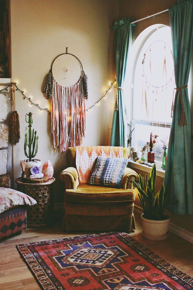 Phòng khách đẹp đón hè sang